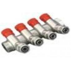 Коллектор CRISTAL  3/4Gх1/2 *16 - 4-ой (под 35*) с перекритием  (NM-1016)