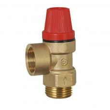 Клапан предохранительный ECO 244-3,0 1/2 НВ 3 бар.