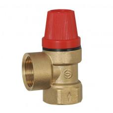 Клапан предохранительный ECO 241-2,5 1/2 ВВ 2,5 бар.