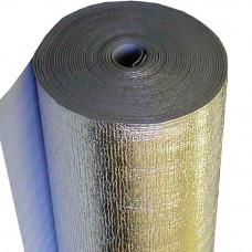 Полотно фольгированное 10,0 мм одностороннее Теплоизол  шир.-100 см,