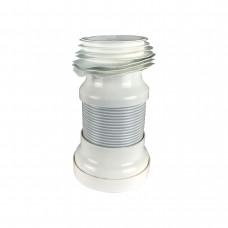 FP 1031 Трубка пласт. гофрир. армированная для унитаза ф110  CRISTAL