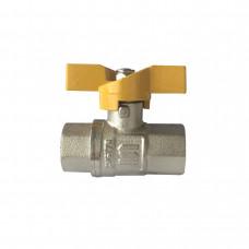 Кран шаровый прямой SELBA 1/2 ВВ ЖБ SL1507